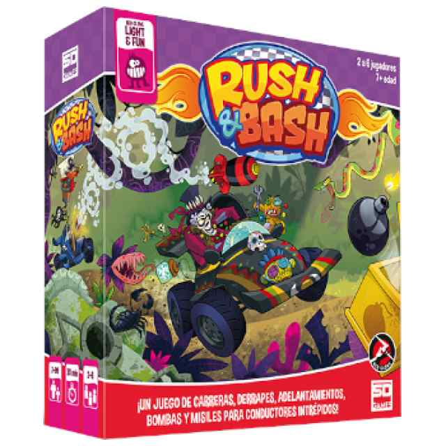 Rush and Bash TABLERUM
