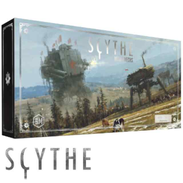 Scythe: Pack Scythe Metal Mechs (4 de cada facción) + PEANAS TABLERUM