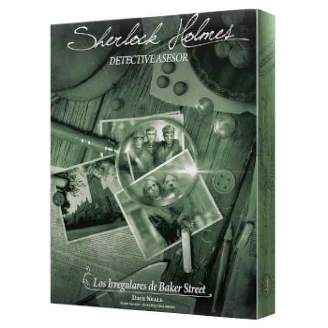 Sherlock Holmes Detective Asesor: Los Irregulares de Baker Street TABLERUM