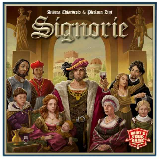 Signorie (INGLES/FRANCES) TABLERUM