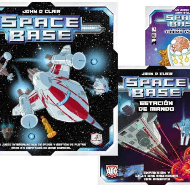 Space Base + Estación de Mando + Tímido Plutón TABLERUM