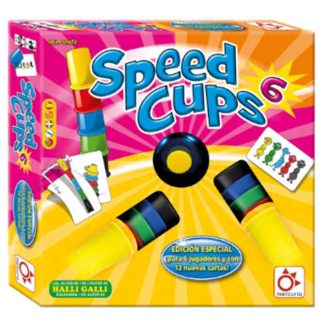 Speed Cups 6 TABLERUM