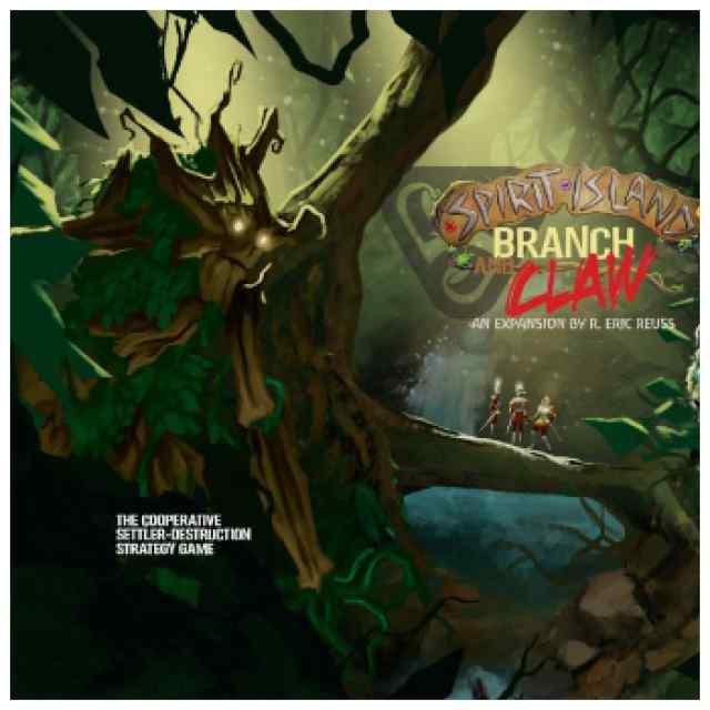 Spirit Island: Branch & Claw TABLERUM