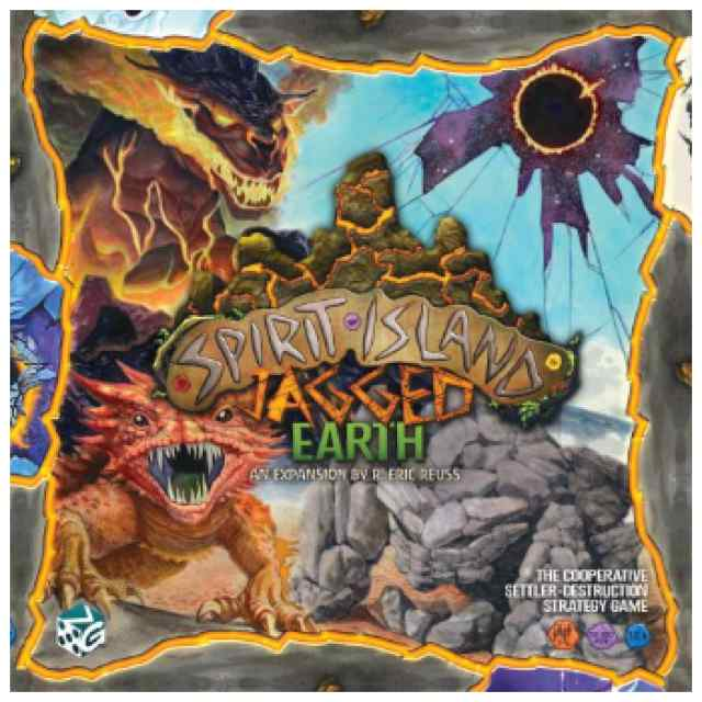 Spirit Island: Jagged Earth TABLERUM