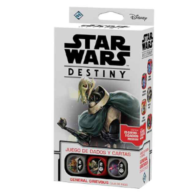 Star Wars: Destiny: Caja de inicio: General Grievous TABLERUM