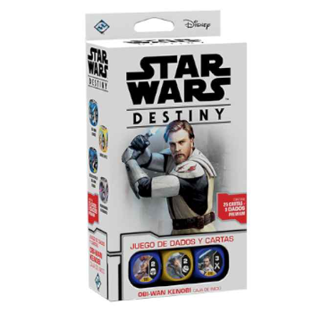 Star Wars: Destiny: Caja de inicio: Obi-Wan Kenobi TABLERUM