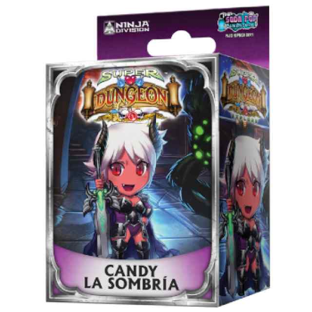 Super Dungeon Explore: Candy la Sombría TABLERUM