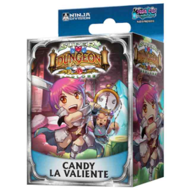 Super Dungeon Explore: Candy, la Valiente TABLERUM
