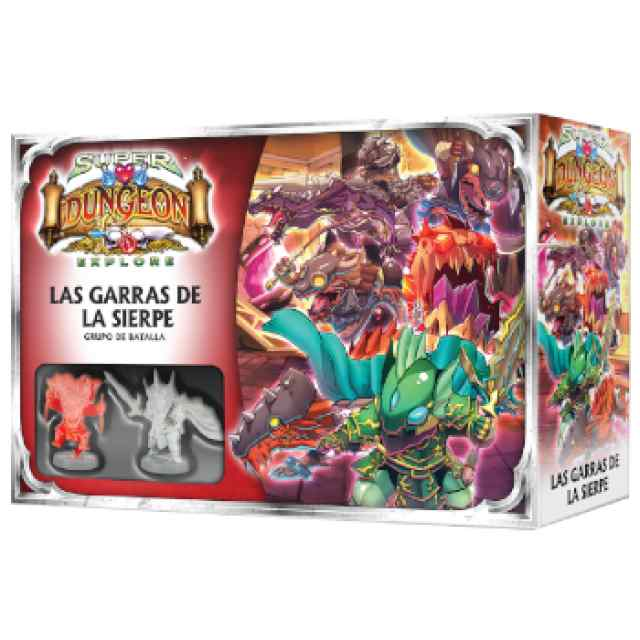 Super Dungeon Explore: Las Garras de la Sierpe TABLERUM