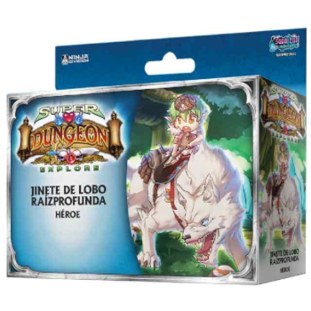 Super Dungeon Explore: Jinete de Lobo Raízprofunda TABLERUM