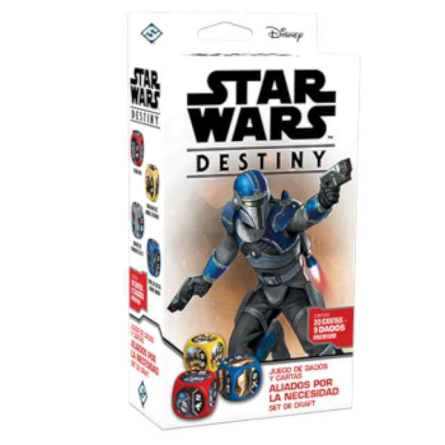 Star Wars: Destiny: Aliados por la necesidad Set de Draft TABLERUM