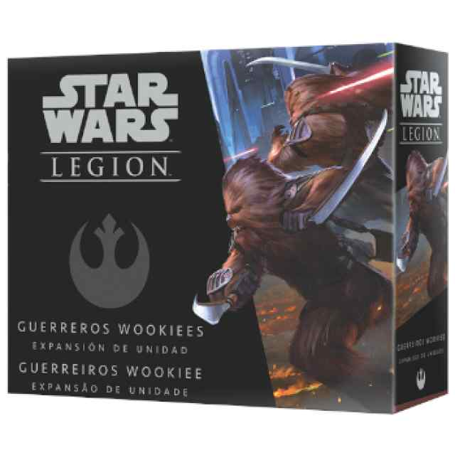 Star Wars Legión: Guerreros Wookiees TABLERUM