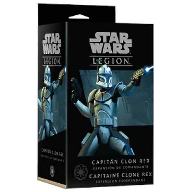 Star Wars Legión: Capitán Clon Rex TABLERUM