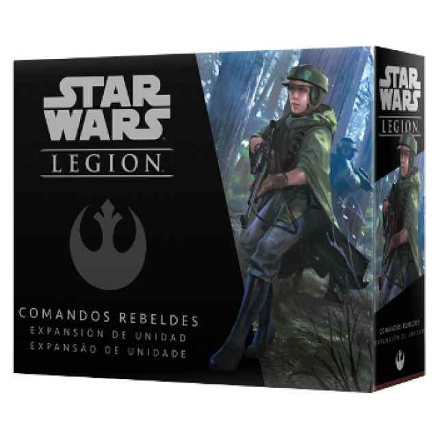 Star Wars Legión: Comandos Rebeldes TABLERUM