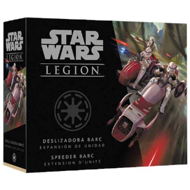 Star Wars Legión: Deslizadora BARC TABLERUM