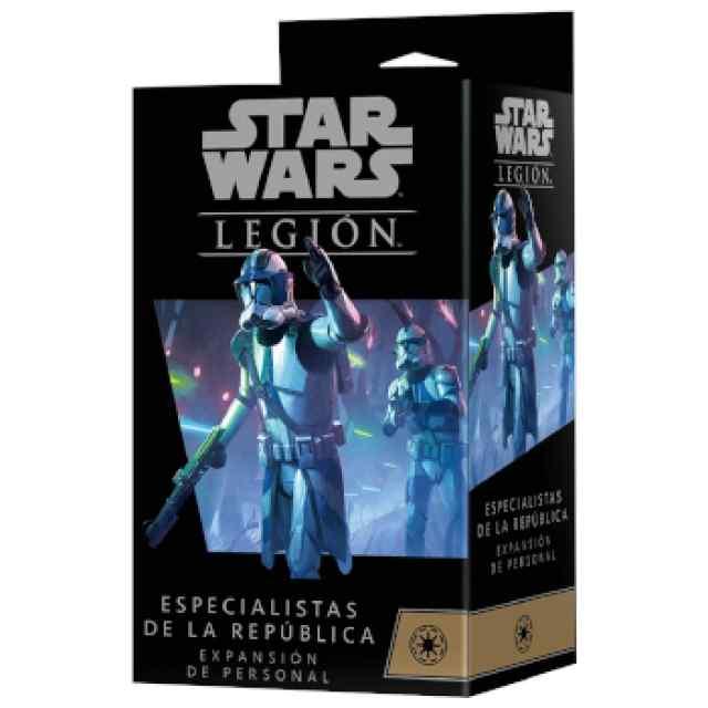 Star Wars Legión: Especialistas de la República Expansión de Personal TABLERUM