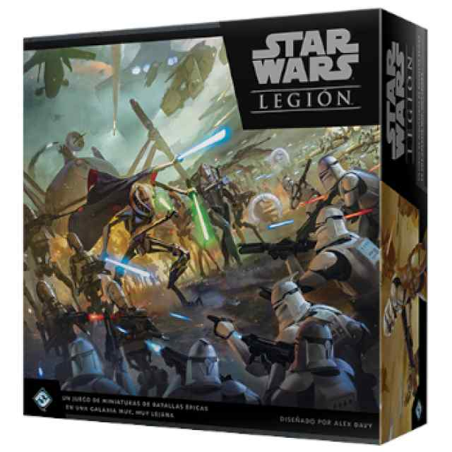 Star Wars Legión: Las Guerras Clon TABLERUM