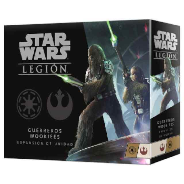 Star Wars Legión: Unidad de Guerreros Wookies TABLERUM