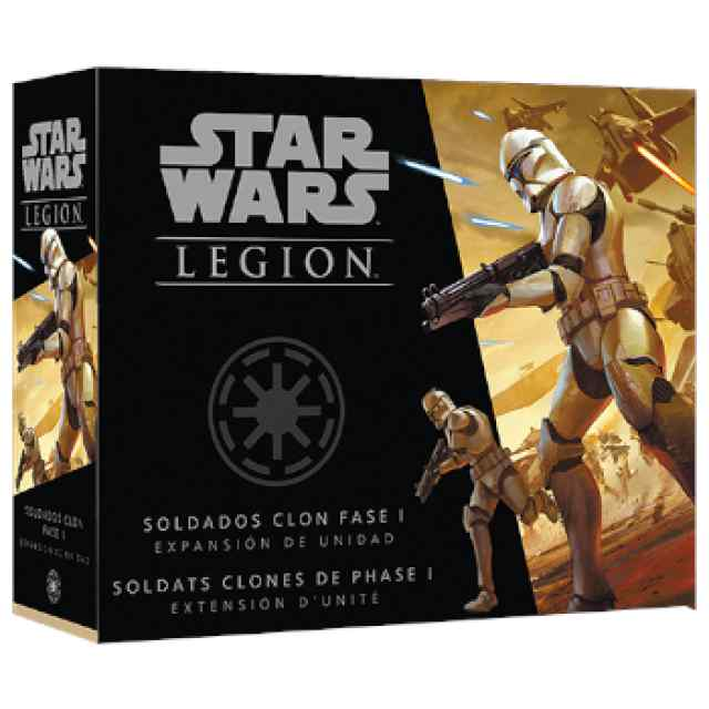 Star Wars Legión: Soldados clon fase I TABLERUM