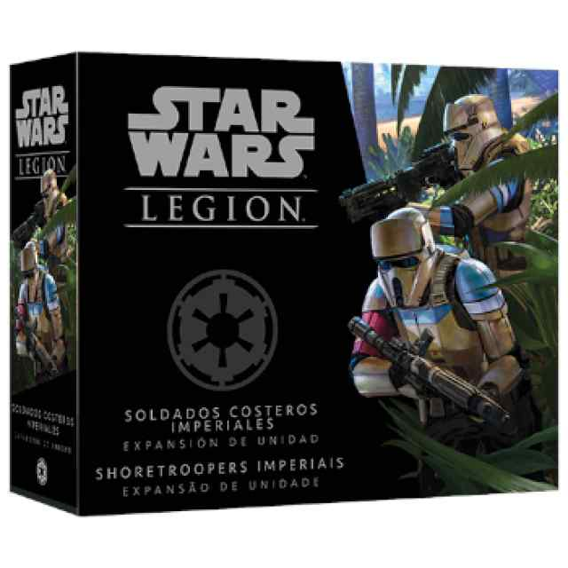 Star Wars Legión: Soldados Costeros Imperiales TABLERUM