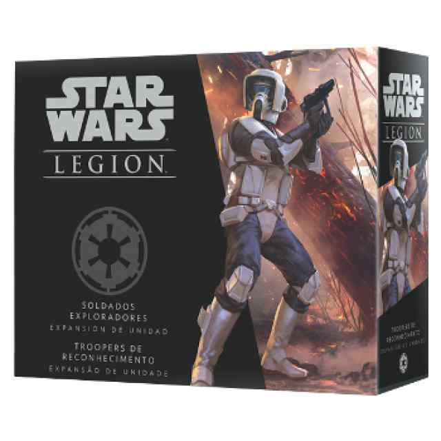 Star Wars Legión: Soldados Exploradores TABLERUM