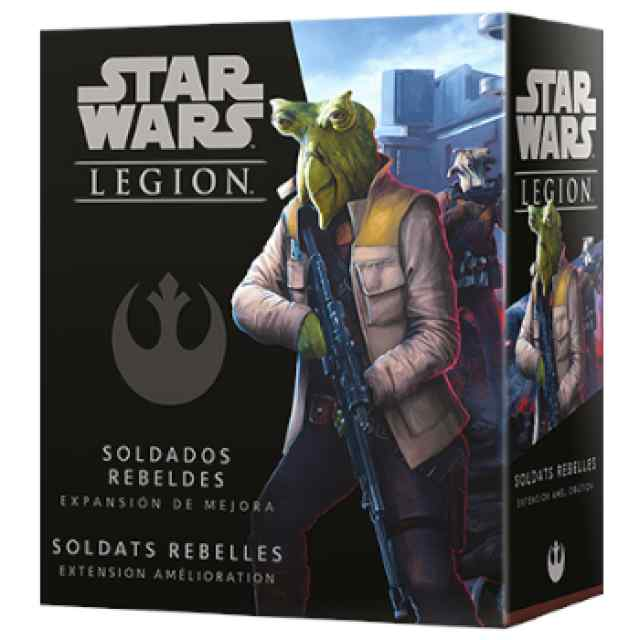 Star Wars Legión: Soldados Rebeldes Exp. Mejora TABLERUM