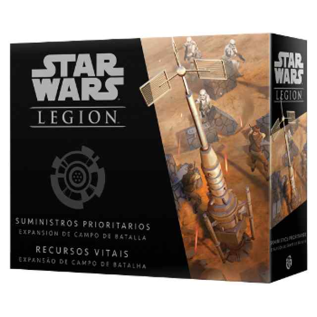 Star Wars: Legión Suministros Prioritarios TABLERUM