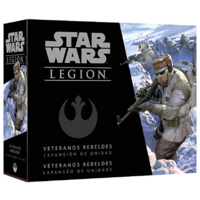 Star Wars Legión: Veteranos Rebeldes TABLERUM