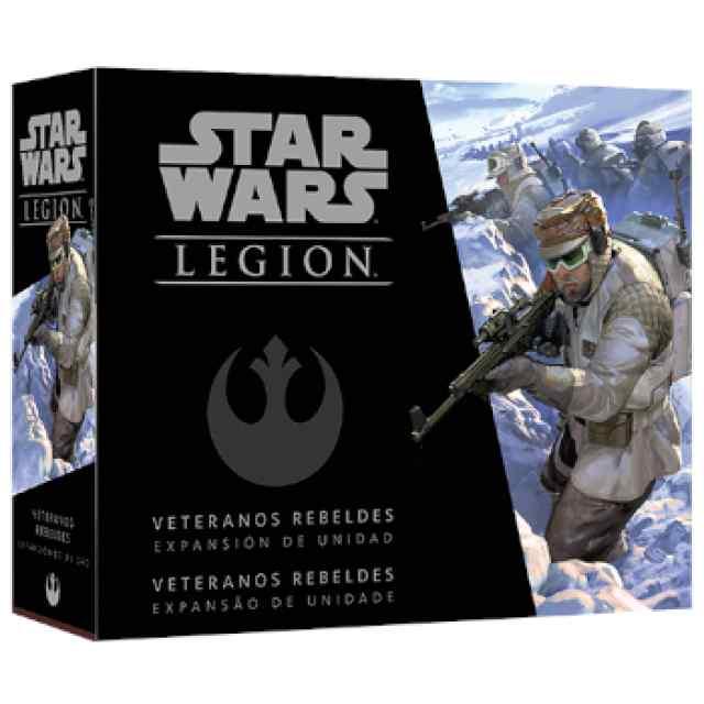 Star Wars Legión: Veteranos Rebeldes TABLERUM