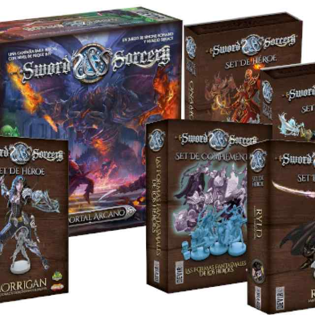 Sword & Sorcery Expansiones