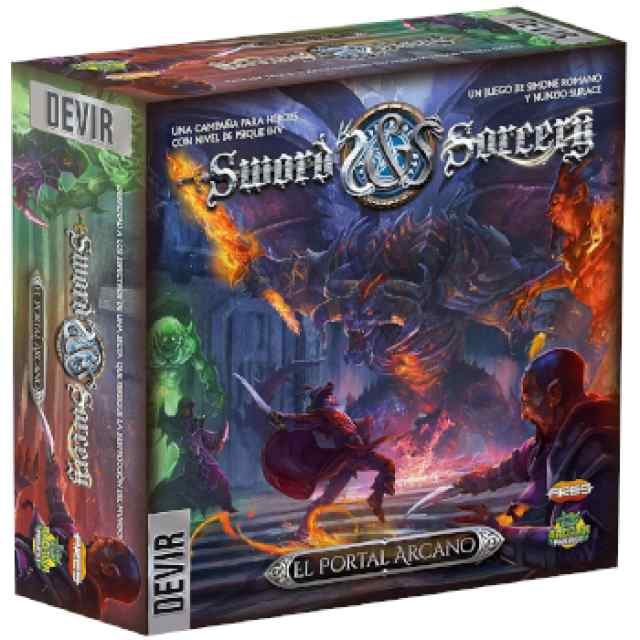 Sword & Sorcery: Portal Arcano TABLERUM