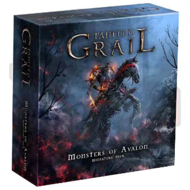 Tainted Grail: Monstruos de Ávalon (Pack de miniaturas) TABLERUM