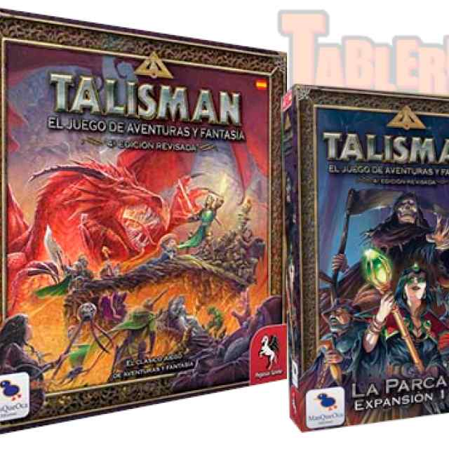Talisman 4Ed Revisada + Talisman: Exp. La Parca TABLERUM