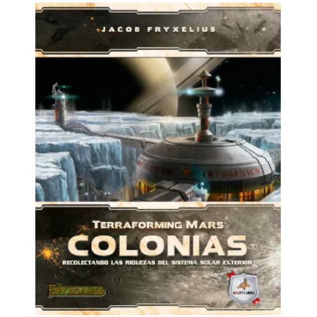 Terraforming Mars: Colonias TABLERUM