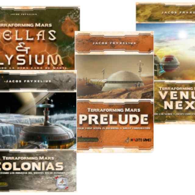 Terraforming Mars Expansiones TABLERUM