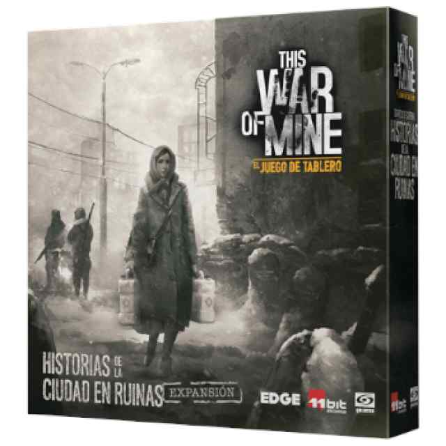 This War of Mine: Diarios de guerra: Historias de la ciudad en ruinas TABLERUM