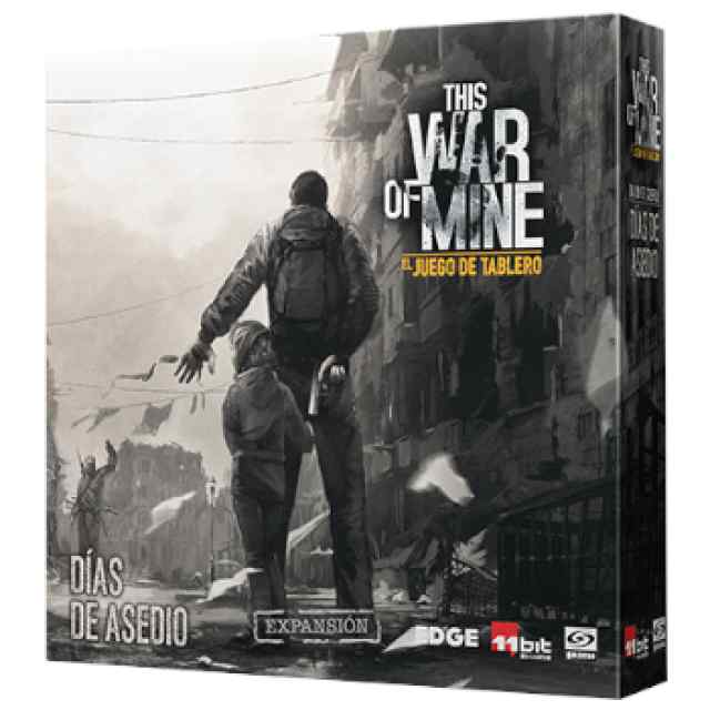 This War of Mine: Diarios de guerra: Días de Asedio TABLERUM