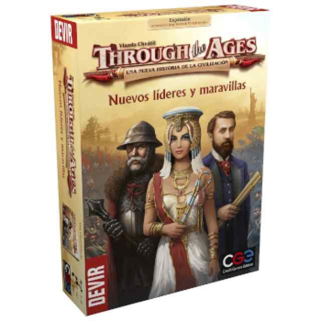 Trought the Ages (2 Ed): Nuevos Líderes y Maravillas TABLERUM