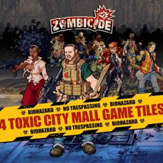 comprar Zombicide: Toxic City Mall Game Tiles