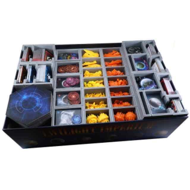 Twilight Imperium 4Ed: La Profecía de los Reyes Inserto Folded Space TABLERUM