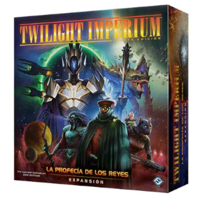 Twilight Imperium: La Profecía de los Reyes TABLERUM