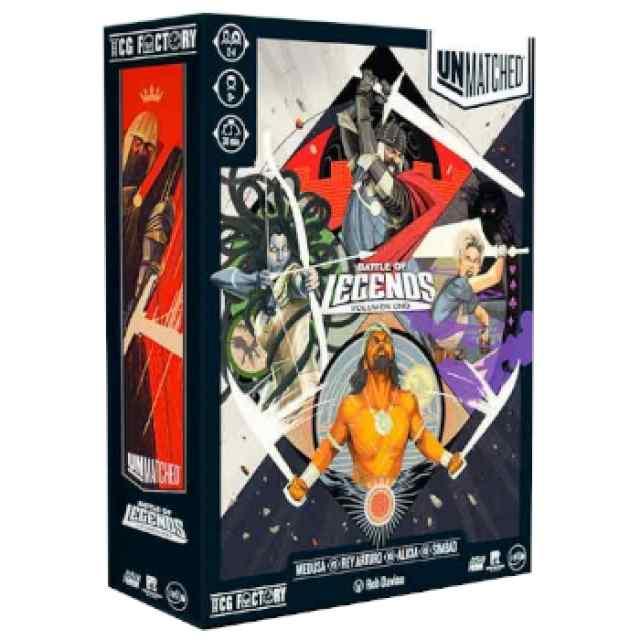 Unmatched Battle Of Legends Volumen 1 TABLERUM