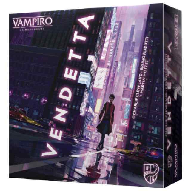 Vampiro: La Mascarada Vendetta TABLERUM