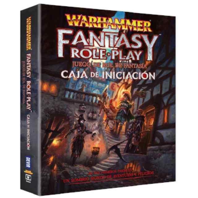 Warhammer: El juego de Rol de Fantasía: Caja de Iniciación TABLERUM