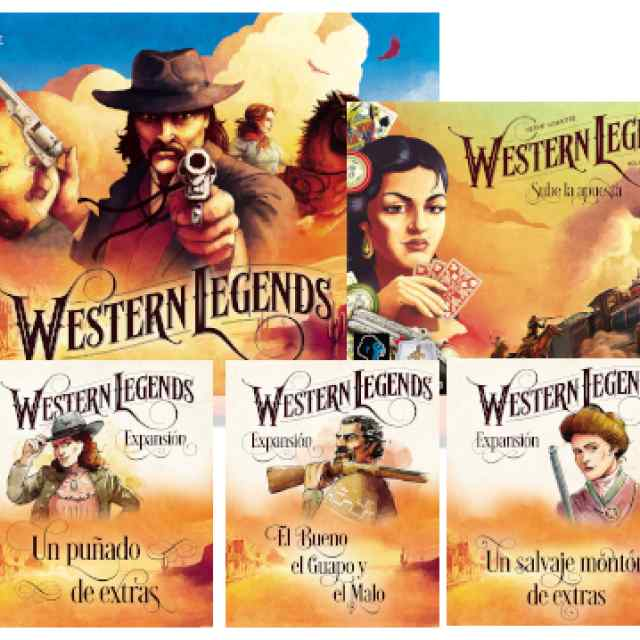 Western Legends TOTAL TABLERUM