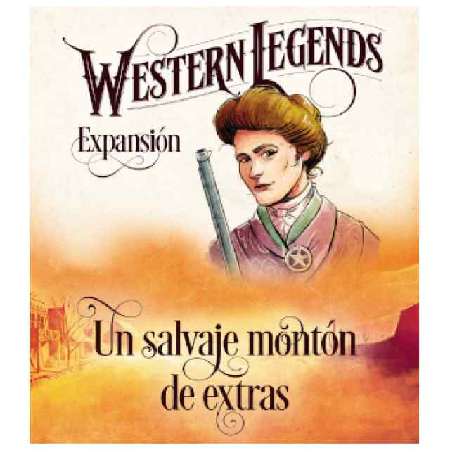 Western Legends: Un Salvaje Montón de Extras TABLERUM