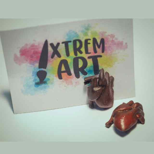 xtrem art corazones