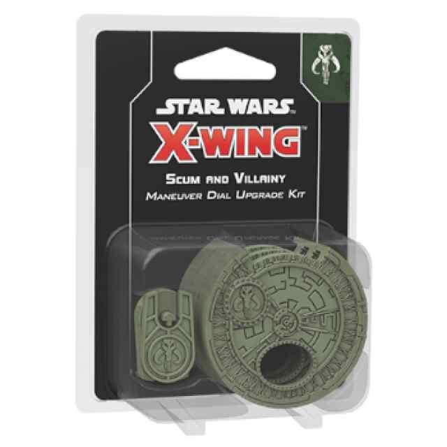 X-Wing (2ª Ed): Kit de mejora de selector de maniobra para Escoria y Villanos TABLERUM