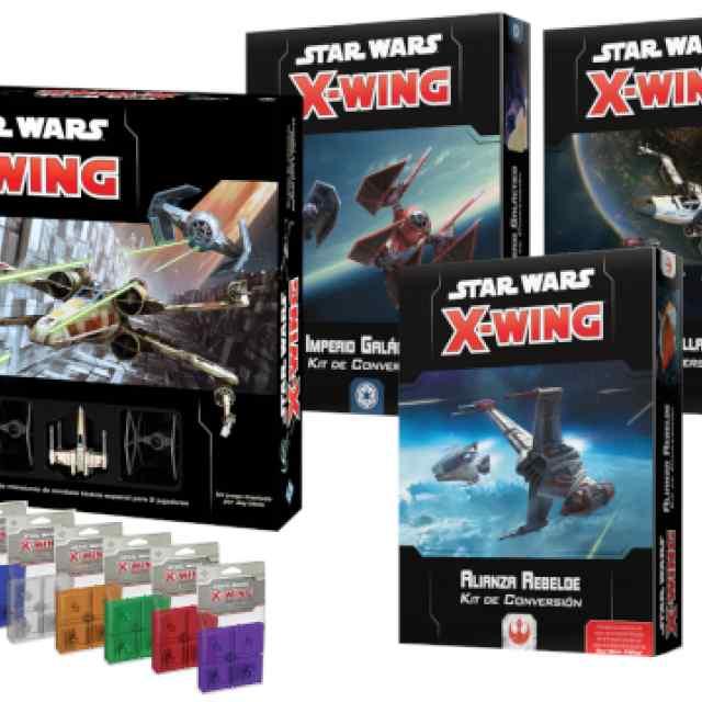 X-Wing (2ª Ed): Core + Kits de Conversión TABLERUM