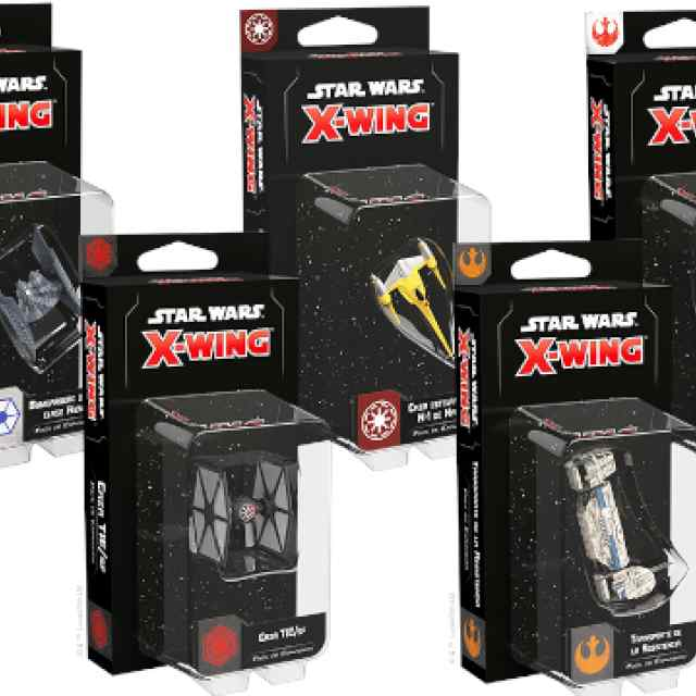 X-Wing (2Ed): Oleada 4 TABLERUM